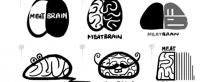 Meatbrain Logo Design