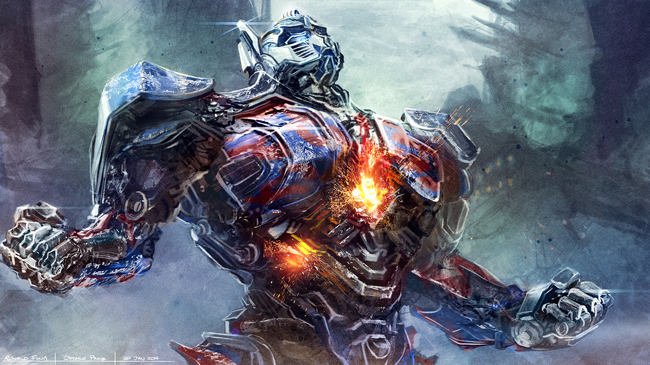 Optimus Prime Digital Painting