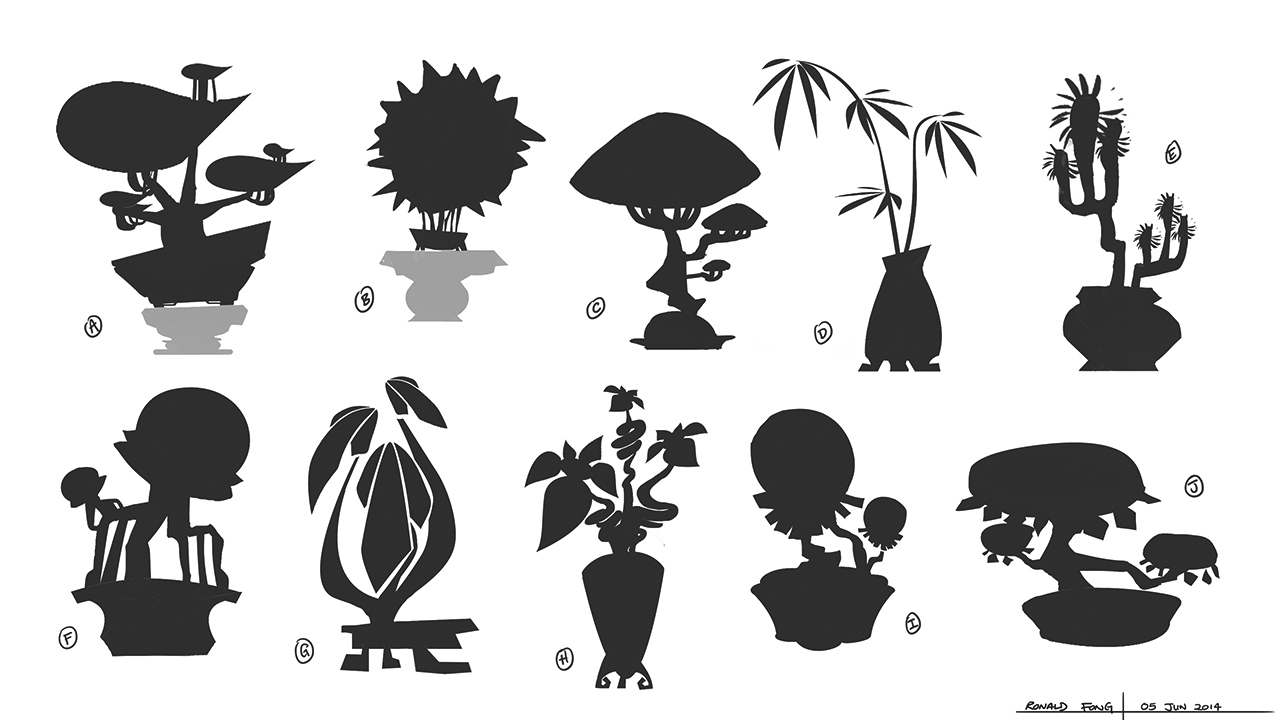 You Ci Ke - Visual Development of Plants