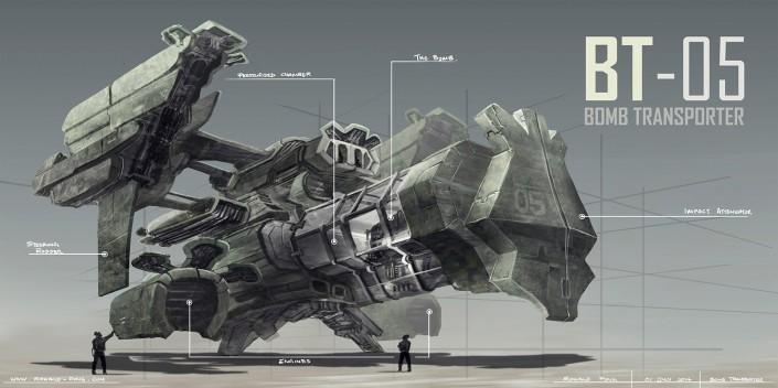 Bomb Transporter