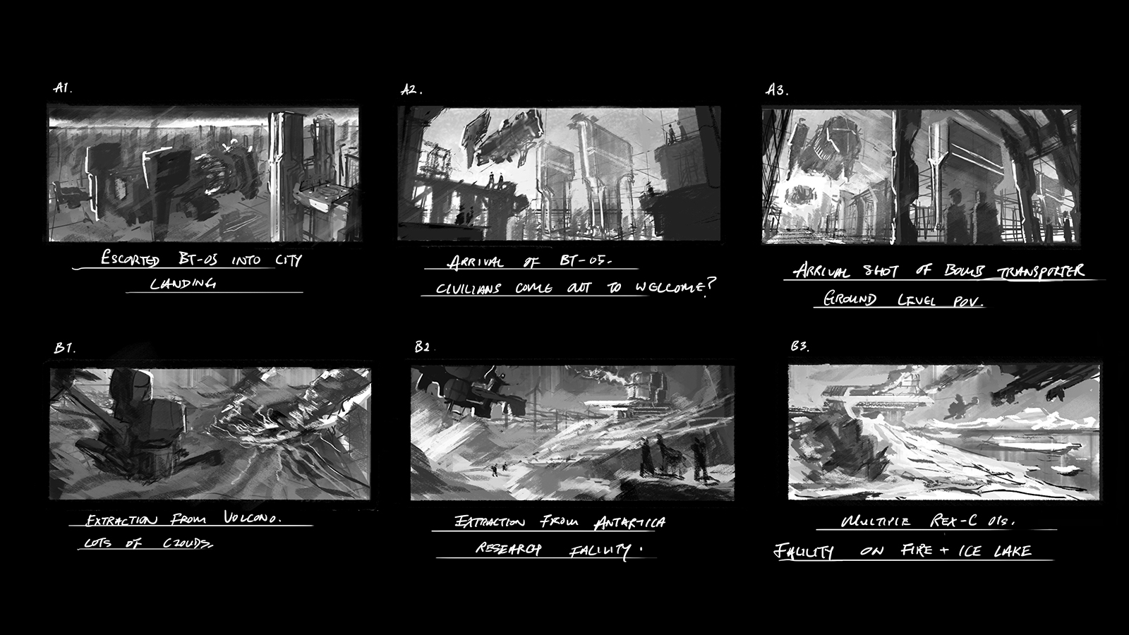 Shot Design Thumbnails