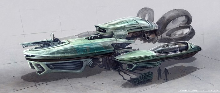 Spaceship Concept Design