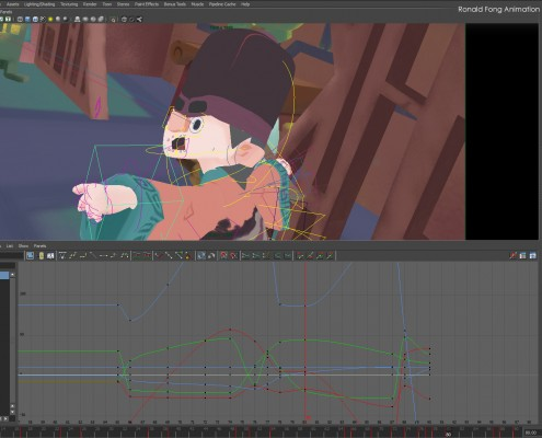 Notes on Smoothing Animation in Maya