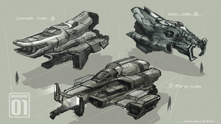 Marine Ships by Ronald Fong