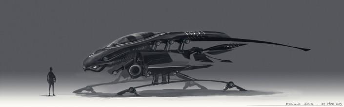 Grasshopper Concept Art Ronald Fong