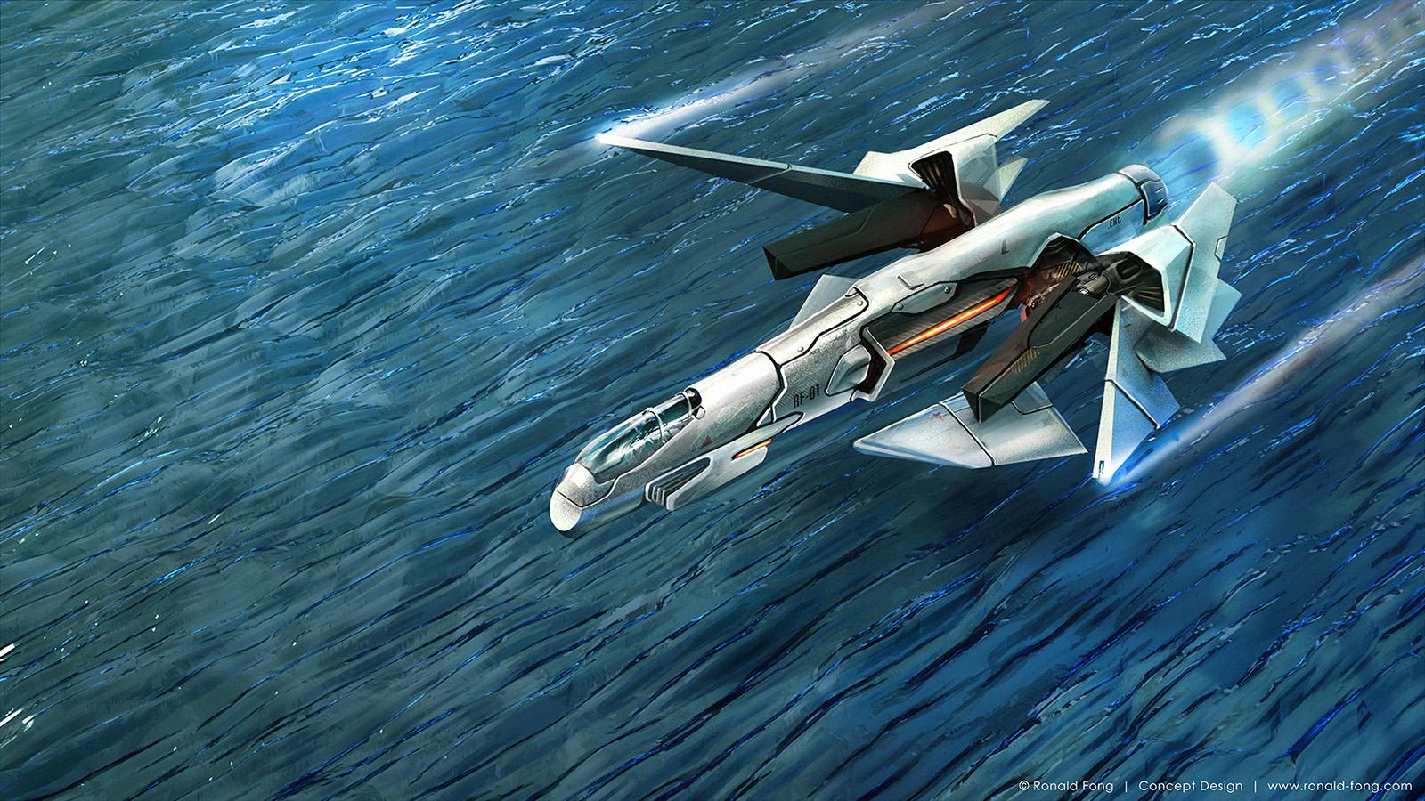 Fighter Spacecraft KB01