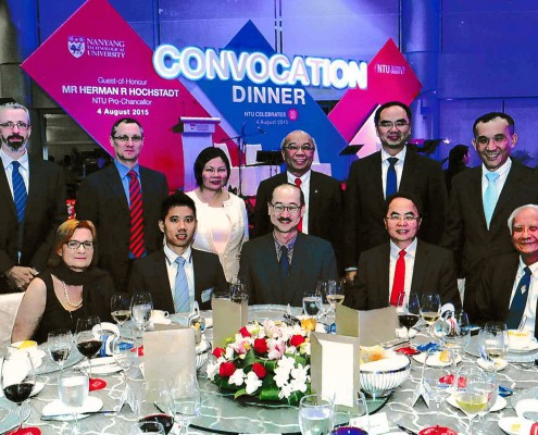 Convocation Dinner 2015