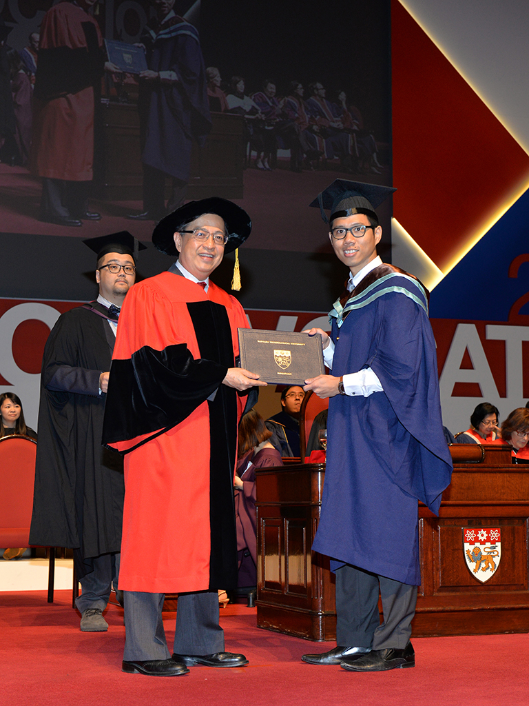 Ronald Fong NTU Convocation 2015 Valedictorian
