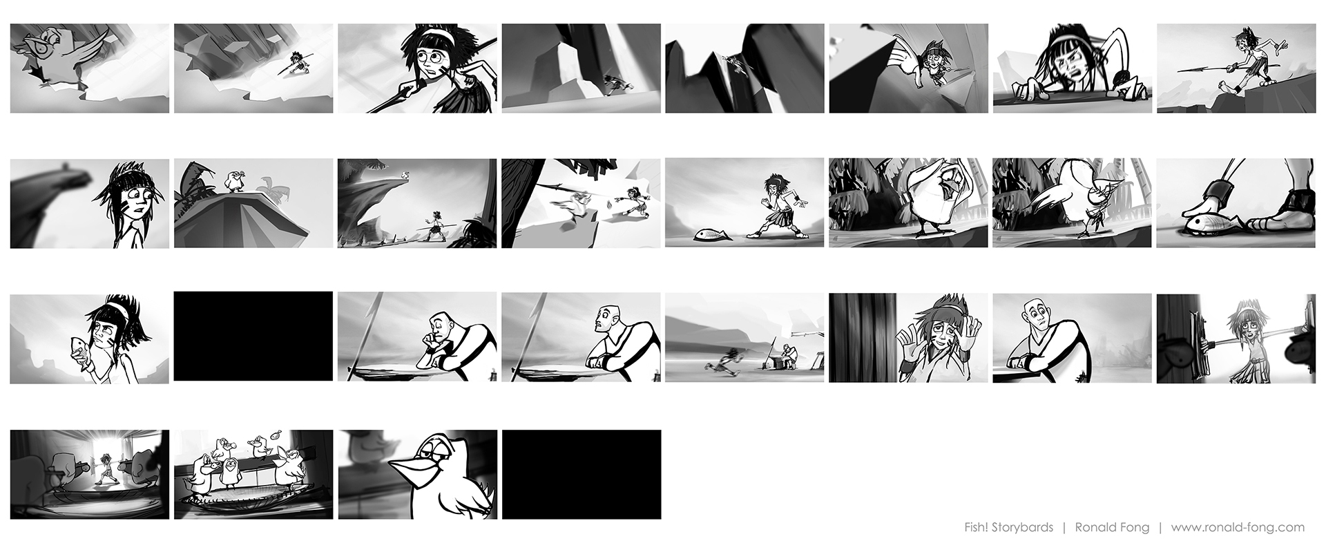 3D Animation Short Film Storyboards. PreviousNext