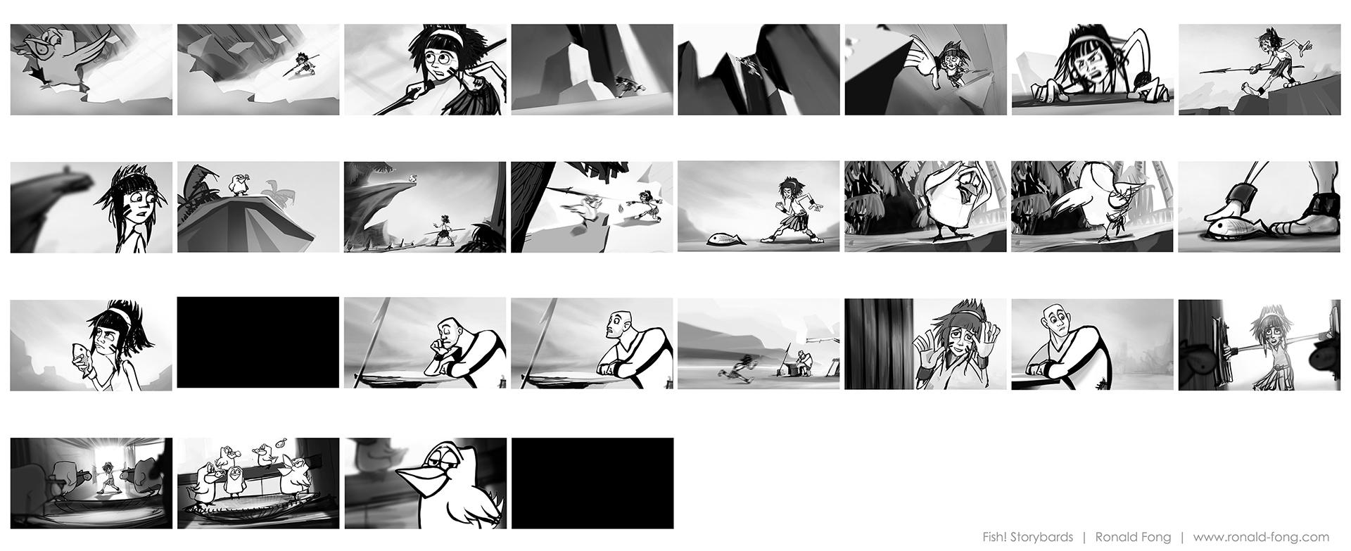 Storyboards Ronald Fong