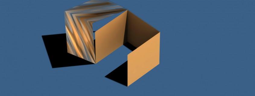 Glitch 3D Logo Animation Ronald Fong