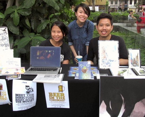 Vicky Chen Han Qingping Ronald Fong Cartoons Underground at Reelak