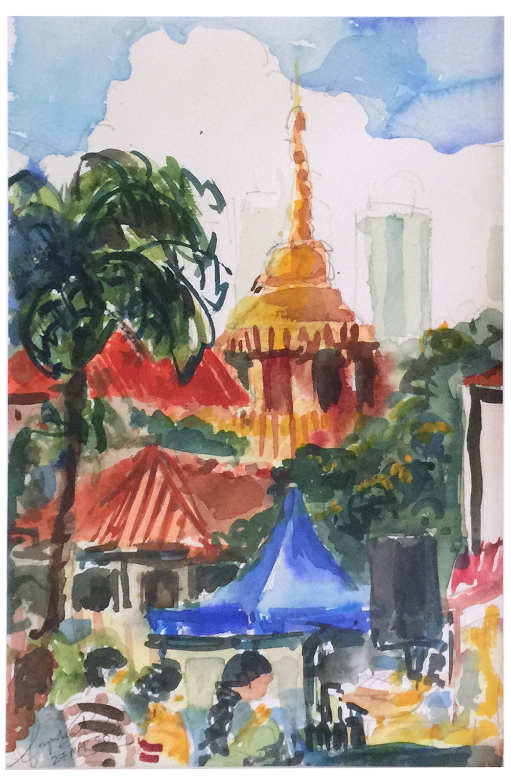 Ronald Fong Watercolor Reelak Documentation