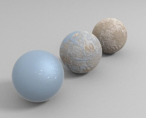 Vray Blend Material Test (2)
