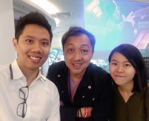 Ronald Fong Juan Foo Han Qing Ping All-In Young Writers