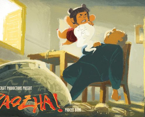 Baozha Animated Short Film Thumbnail