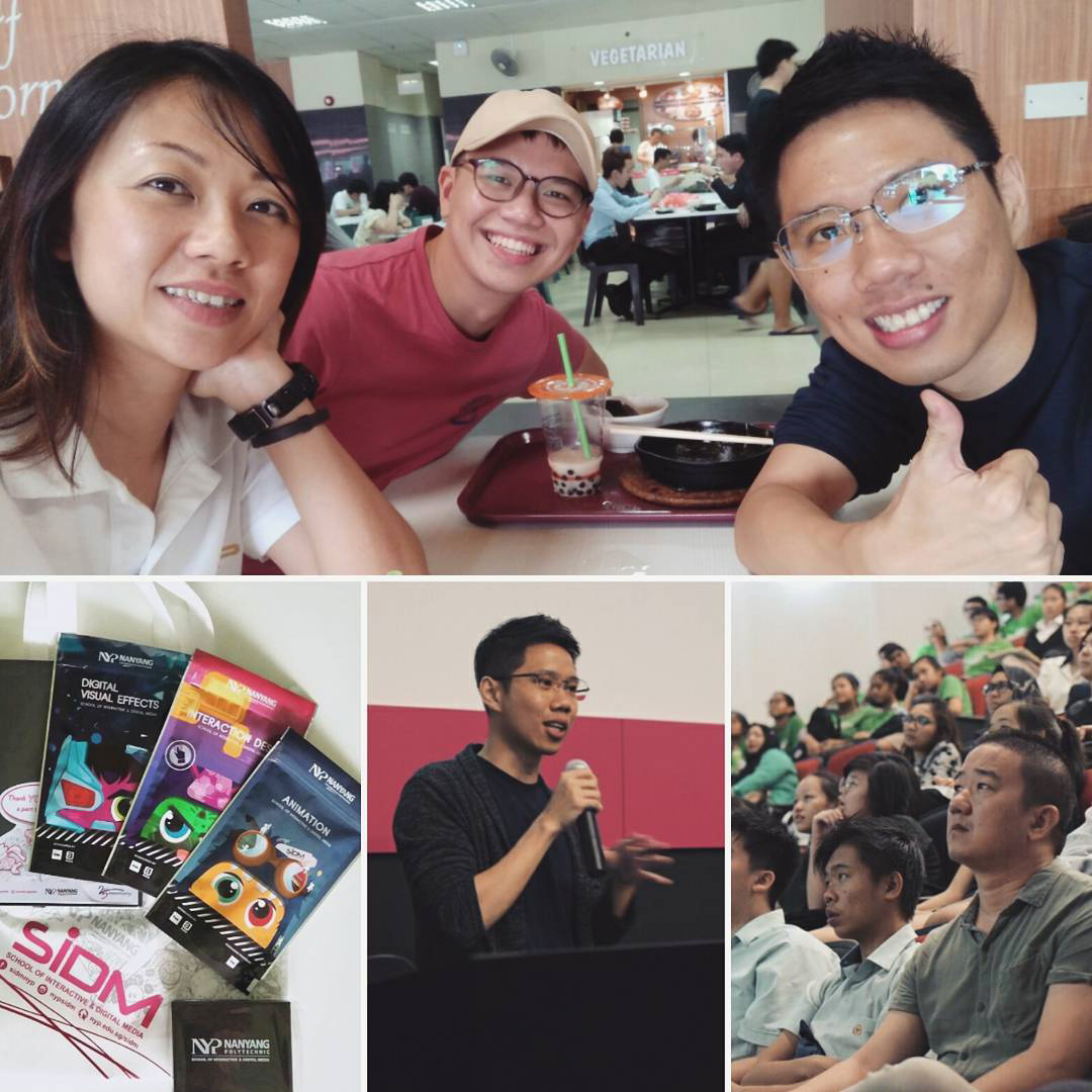 Grace Toh, Benjamin Ang and Ronald Fong at IDM Day 2017