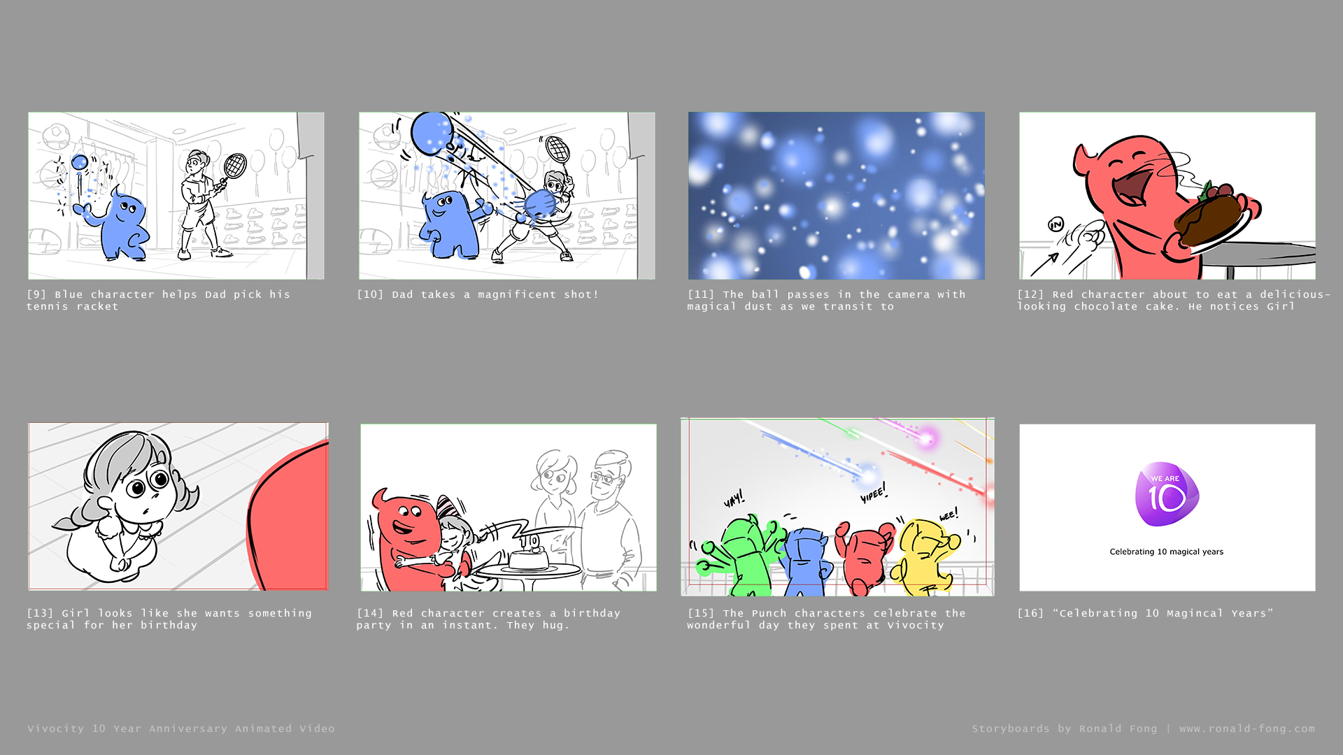 Vivocity Animation Storyboards Page 2