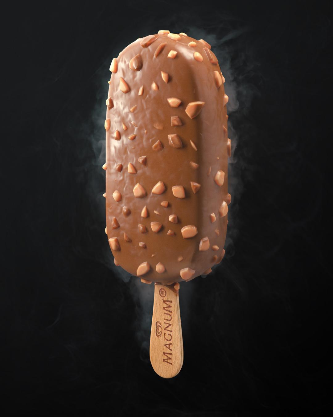 Ronald Fong Magnum 3D Ice Cream - Comp