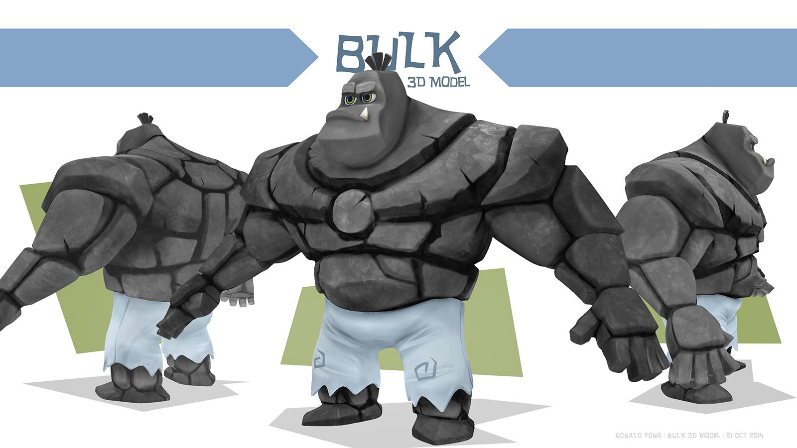 Bulk 3D Model