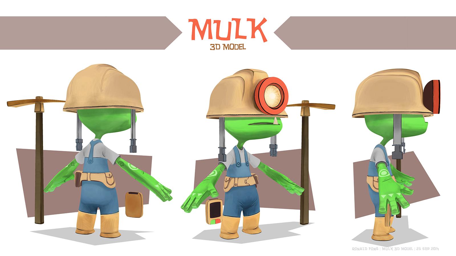 Mulk 3D Model