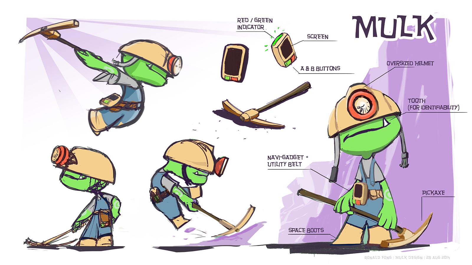 Mulk Character Design
