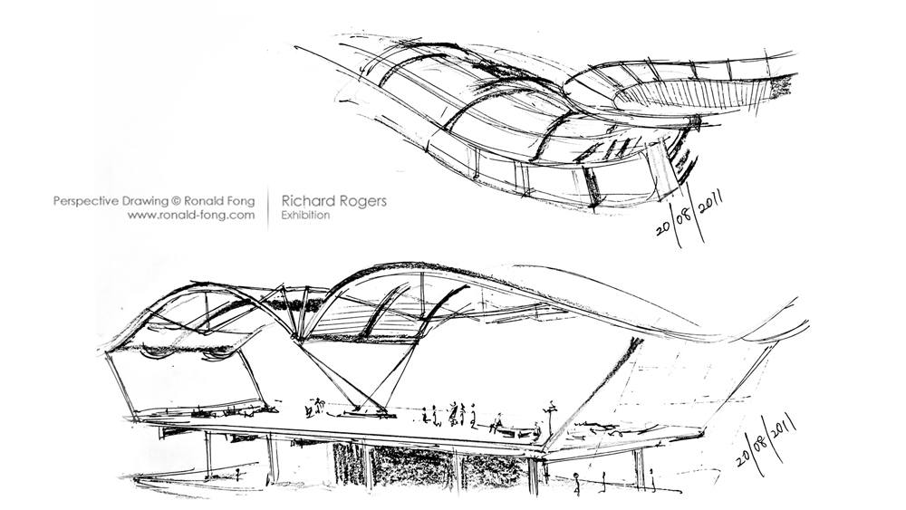 Richard Rogers Exhibition – Ronald Fong